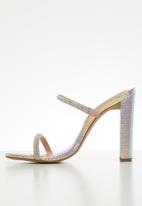 ALDO - Agafiyay heel - silver