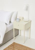 Sixth Floor - Fritz bedside table - cream