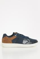 POLO - Graham court sneaker - navy