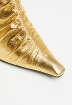 Jeffrey Campbell - Scrunchy - gold