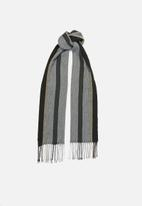 Superbalist - Knitted fringed scarf - multi