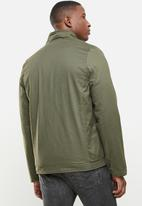 SOVIET - Colt zip through casual jacket - olive