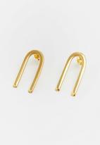Lorne - N's earring - gold