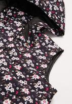 POLO - Girls tessa floral sleeveless puffer jacket - multi