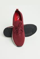 POLO - Gemma athletic sneaker - burgundy