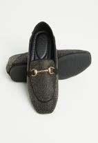 POLO - Cleo gem loafer - black
