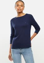 POLO - Toronto long sleeve basic t-shirt - navy