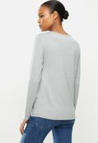 POLO - Toronto long sleeve basic t-shirt - grey