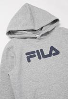 FILA - Mono deckle hoodie - grey