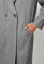 Superbalist - Boyfriend coat - herringbone