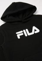FILA - Mono deckle hoodie - black