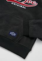 Aca Joe - Pre-boys core fleece hoody - charcoal