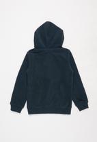 Aca Joe - Pre-girls fleece hoody - navy