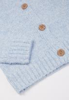 Free by Cotton On - Maggie cropped cardigan - dusk blue