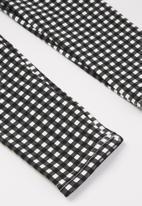 Cotton On - Fleece legging - black & white