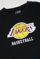 NBA - Lakers icon straight hem tee - black
