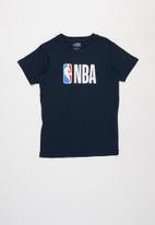 NBA - Nba icon logo straight hem tee - navy