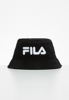 FILA - Andy corduroy bucket hat - black