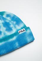 FILA - Lou tie dye beanie - blue