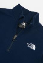 The North Face - Glacier 1/4 zip (recycled) - navy
