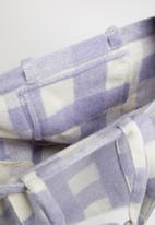 Rubi - Check mate tote - purple