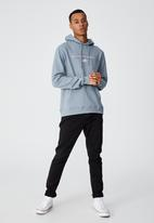 Cotton On - Graphic fleece pullover - citadel/detroit iron