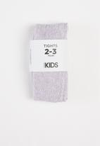 Cotton On - Tilly tights - vintage lilac marle