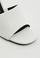 Call It Spring - Divinee heel - white