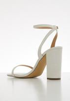 Call It Spring - Elsaa heel - white