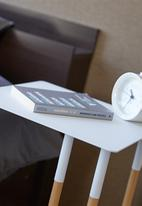 Yamazaki - Plain side table - white