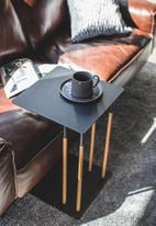 Yamazaki - Plain side table - black
