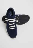 POLO - Gavin knit sneaker - navy