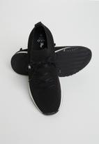 POLO - Gavin knit sneaker - black