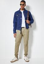 Superbalist - Osaka tapered utility pant - beige