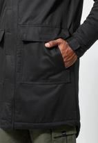 Superbalist - Storm padded parka - black