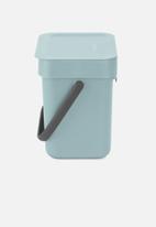 Sort & Go  - Countertop waste bin 3 litre - teal
