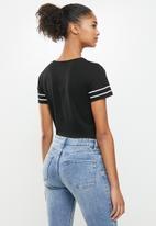 Aca Joe - Basketball short sleeve T-shirt - black