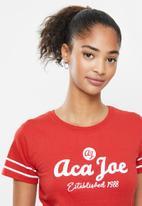 Aca Joe - Basketball short sleeve T-shirt - red