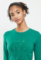 Aca Joe - Drawstring dress - green