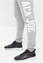 Aca Joe - Aca joe big logo jogger - grey