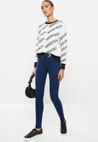 SISSY BOY - Axel knit jegging - blue