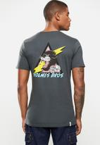 Holmes Bro's - Black panther short sleeve tee - charcoal