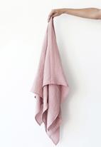 Phlo Studio - Muslin swaddle blanket - dusty pink