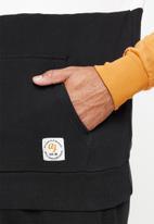 Aca Joe - Aca joe colour block fleece snood pullover - multi