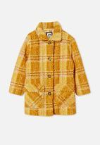 Cotton On - Cecilia check jacket - yellow
