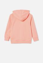 Cotton On - Milo hoodie - peach