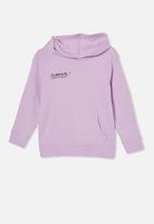 Cotton On - Milo hoodie - pale violet