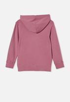 Cotton On - Milo hoodie - very berry