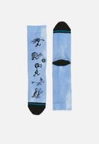 Stance Socks - Stance dr seuss some have two - blue