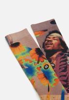 Stance Socks - Jimi flowers - multi